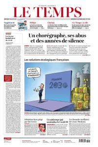 Le Temps - 13 Oktober 2021