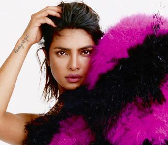 Priyanka Chopra by Marcin Kempski for ELLE UK August 2019