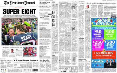 The Providence Journal – January 22, 2018