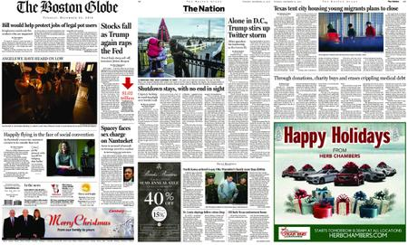 The Boston Globe – December 25, 2018