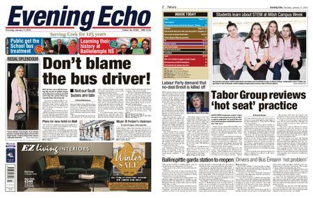 Evening Echo – January 17, 2019