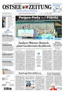 Ostsee Zeitung Wolgast - 23. August 2018