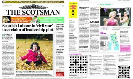 The Scotsman – September 28, 2017