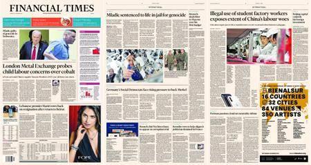 Financial Times Europe – 23 November 2017