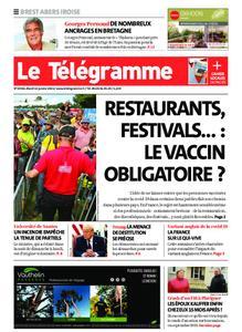 Le Télégramme Brest Abers Iroise – 12 janvier 2021