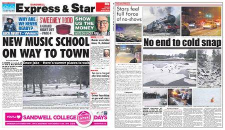 Express and Star Sandwell Edition – March 03, 2018