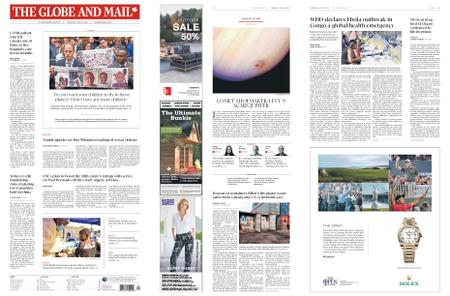 The Globe and Mail – July 18, 2019