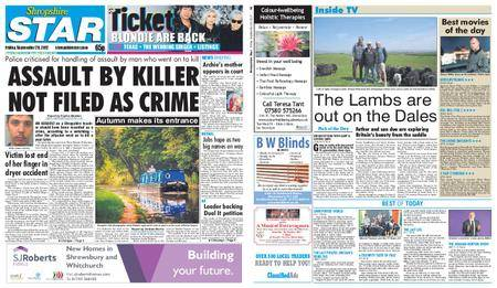 Shropshire Star Shrewsbury Edition – September 29, 2017