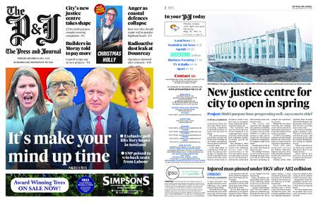 The Press and Journal Moray – December 12, 2019
