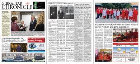 Gibraltar Chronicle – 14 February 2020