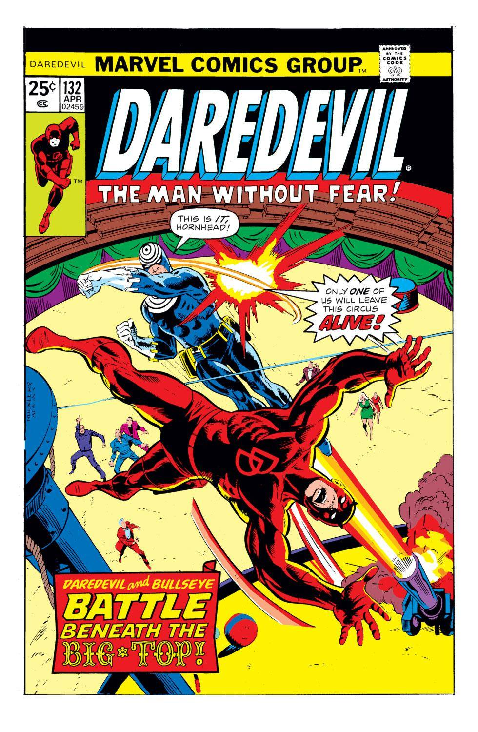 Daredevil 132 1976 Digital