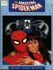 Marvel Graphic Novel 46 - Spider-Man - Parallel Lives 1989