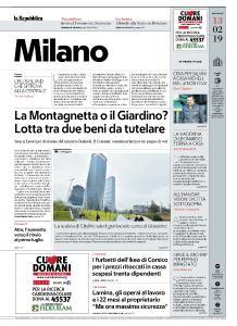 la Repubblica Milano - 13 Febbraio 2019
