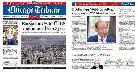 Chicago Tribune Evening Edition – October 15, 2019