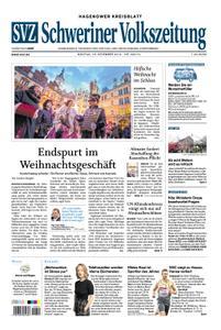 Schweriner Volkszeitung Hagenower Kreisblatt - 16. Dezember 2019