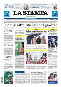 La Stampa Savona - 20 Gennaio 2021
