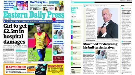 Eastern Daily Press – November 09, 2017