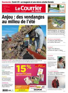 Le Courrier de l'Ouest Saumur – 10 juillet 2020