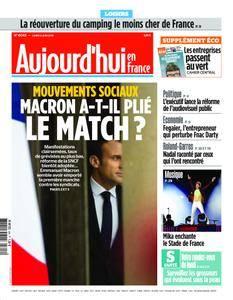 Aujourd'hui en France – 04 juin 2018