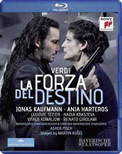 Asher Fisch, Bayerischer Staatsorchester,  Anja Harteros, Jonas Kaufmann - Verdi: La Forza del Destino (2015) [Blu-Ray]