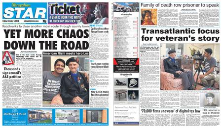 Shropshire Star Shrewsbury Edition – October 05, 2018