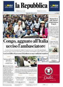 la Repubblica - 23 Febbraio 2021