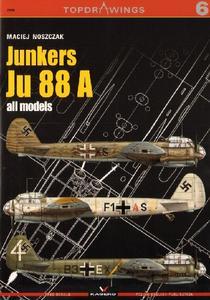 Junkers Ju 88A all models (TopDrawings 6)