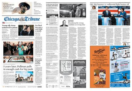 Chicago Tribune – February 21, 2020