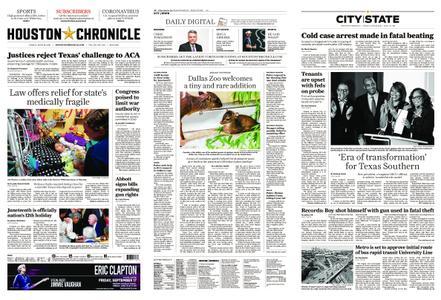 Houston Chronicle – June 18, 2021