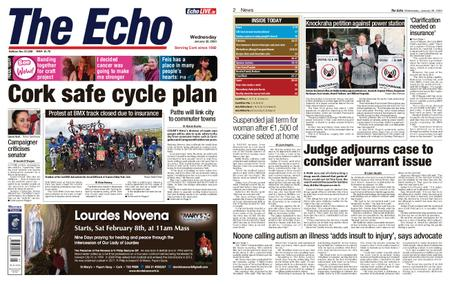 Evening Echo – January 29, 2020