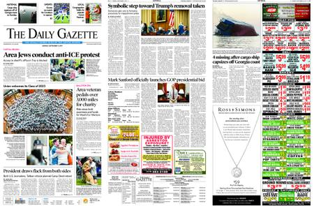 The Daily Gazette – September 09, 2019