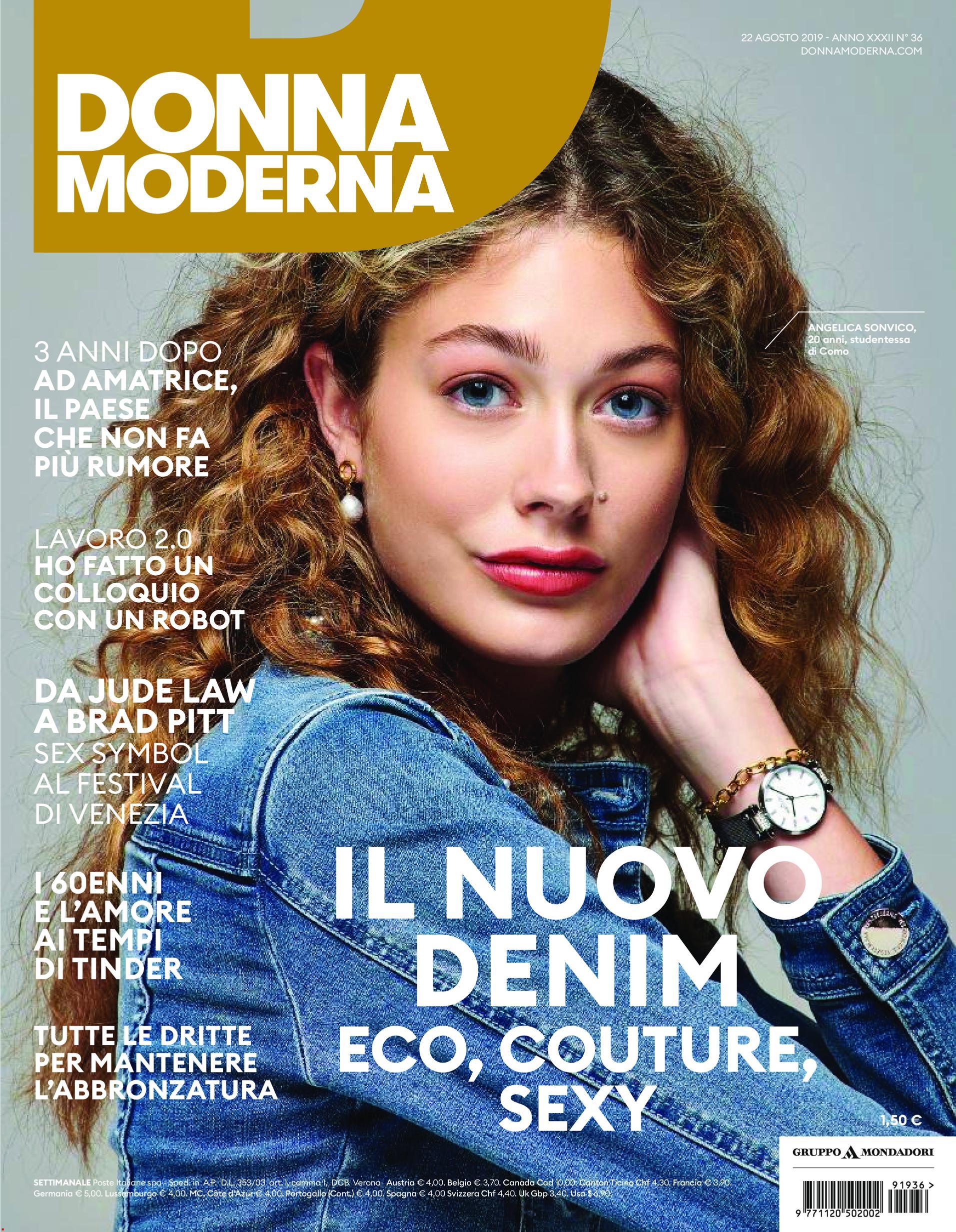 Donna Moderna N.36 - 21 Agosto 2019