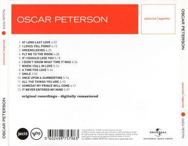 """Oscar Peterson - Fly Me To The Moon (2006) {""""Jazzclub   Legends"""" Series, Remastered} Repost / New Rip"""
