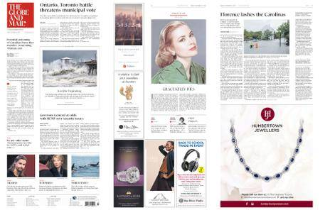 The Globe and Mail – September 14, 2018