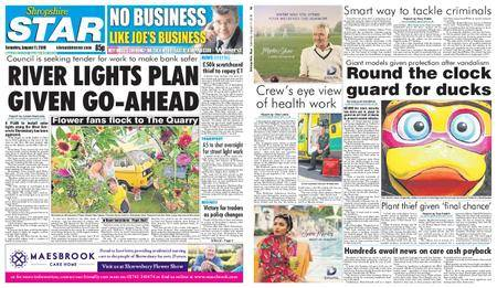 Shropshire Star Shrewsbury Edition – August 11, 2018