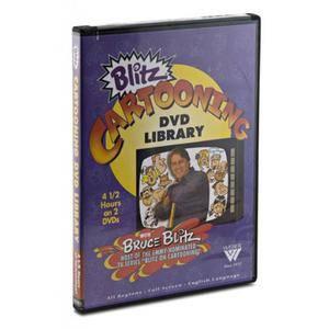 Blitz Cartooning DVD Library