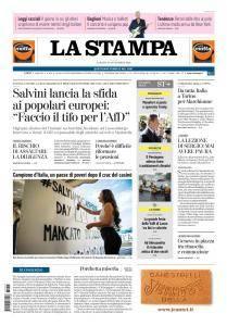 La Stampa Torino Provincia e Canavese - 15 Settembre 2018