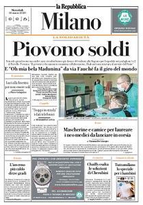 la Repubblica Milano - 18 Marzo 2020