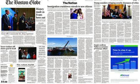 The Boston Globe – July 24, 2018