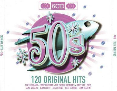 VA - 50's 120 Original Hits (2010) 6 CD