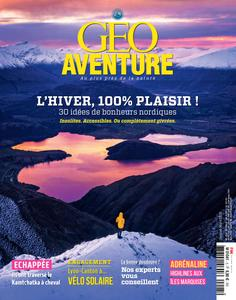 Geo Aventure - Janvier/Mars 2019