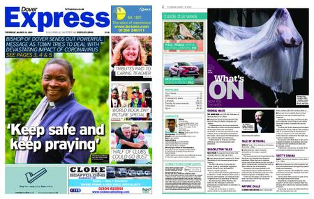 Dover Express – March 19, 2020