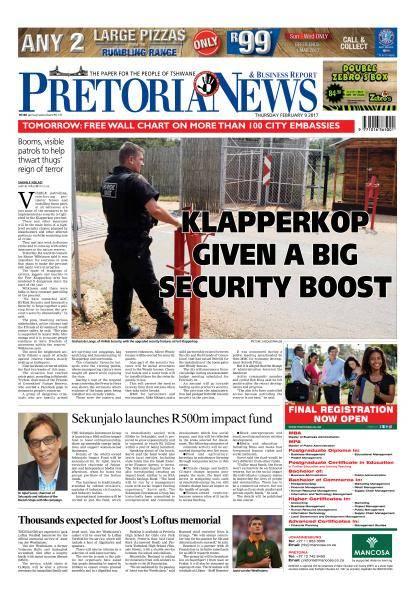 The Pretoria News - February 9, 2017