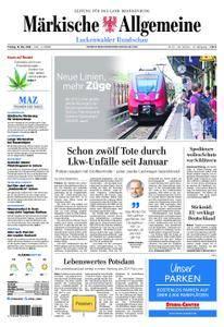 Märkische Allgemeine Luckenwalder Rundschau - 18. Mai 2018