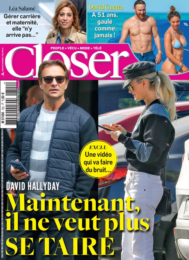 Closer France - 23 novembre 2018