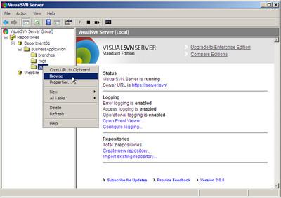 VisualSVN Server Enterprise v2.1.9