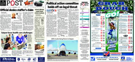The Guam Daily Post – November 01, 2018