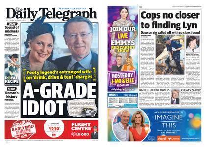 The Daily Telegraph (Sydney) – September 18, 2018