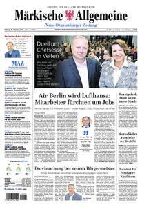 Neue Oranienburger Zeitung - 13. Oktober 2017