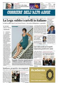 Corriere dell'Alto Adige – 09 gennaio 2019